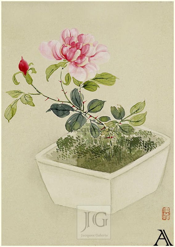 Flowers And Leaf, Yoshizawa Setsuan