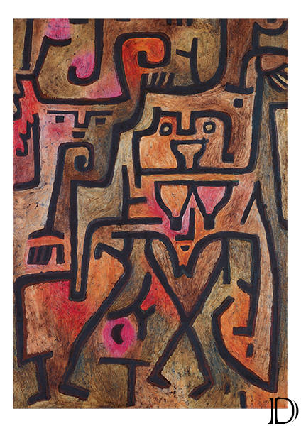 Signs In Yellow, Forest Witches, Oh These Rumours - Paul Klee