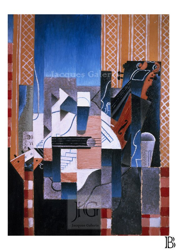 Violin and Guitar (Violon et guitare) - Juan Gris