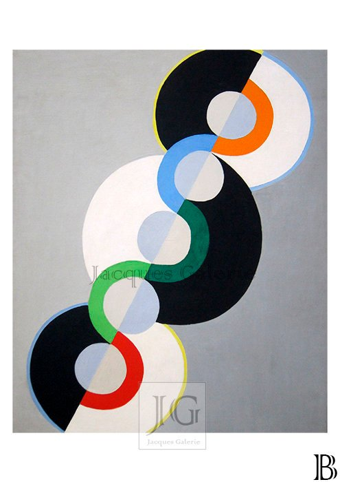 Abstract - Delaunay, Malevich