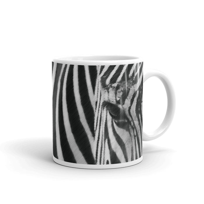 Zebra Striped Statement Mug
