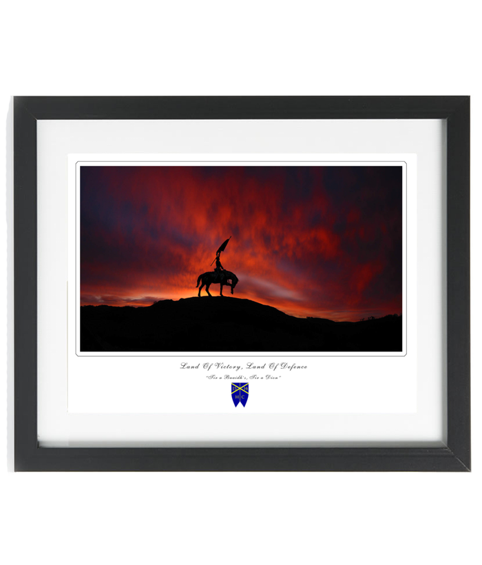 Hawick Common Riding Framed Print