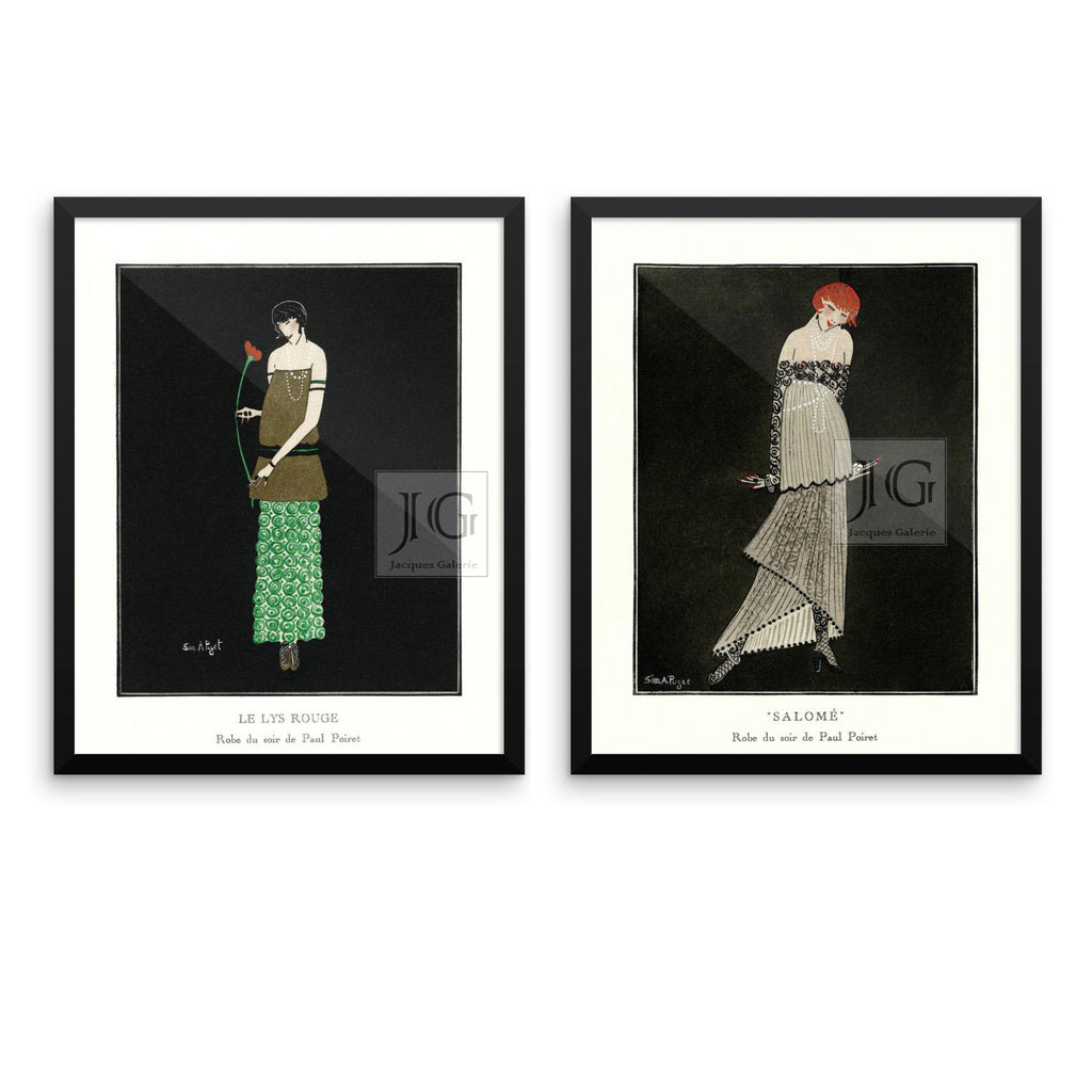 20's Fashion Framed Prints