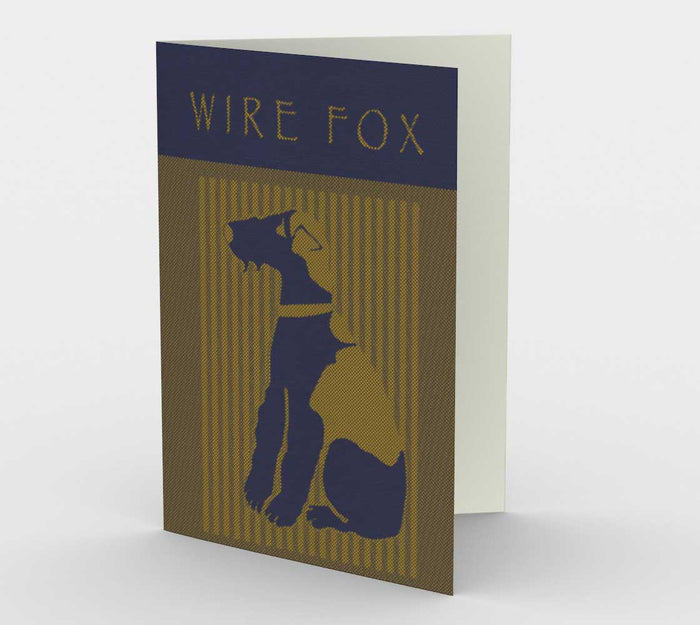 Wire Fox Pinstripe