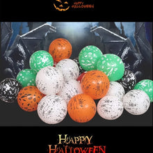Load image into Gallery viewer, Halloween Round Balloon Multicolor Latex 50PCS - esstey