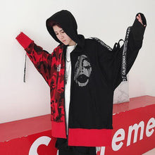 Load image into Gallery viewer, 'Face Masks' Hoodie Jacket - esstey