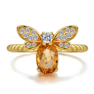Butterfly Shaped Silver Ring | New Arrival 2018 - esstey