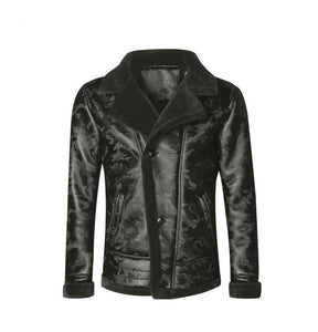 Men Warm Camouflage Fur Collar Jackets- All Sizes - esstey