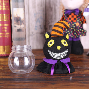Halloween Gift Candy Jar For Child Transparent - esstey