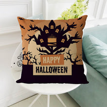Load image into Gallery viewer, Halloween Pillowcase Decorative Upholstery Cushion - esstey