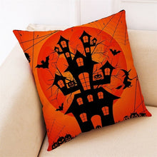 Load image into Gallery viewer, Home Decor Cushion Cover Happy Halloween - esstey