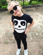 Load image into Gallery viewer, Newest Toddler Baby Boys Girls Skull Print Tops - esstey