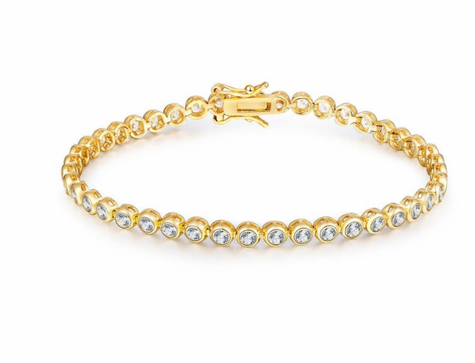 Hiphop Male Tennis Bracelet - esstey