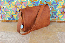 Load image into Gallery viewer, 100% Genuine Leather Sac messenger MJ cartable Bag - esstey