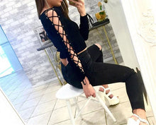 Load image into Gallery viewer, Sexy Lace Sleeve T-Shirt for Women | New Arrival 2018 - esstey