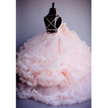 Load image into Gallery viewer, Pink Ruffled Princess Gown | New Arrival 2018 - esstey