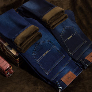 Men's Warm Stretch Denim Jeans | New Arrival 2018 - esstey
