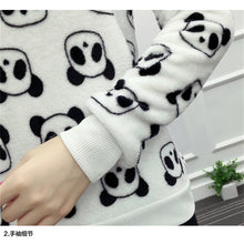 Load image into Gallery viewer, Women sweatshirt for panda lovers - esstey