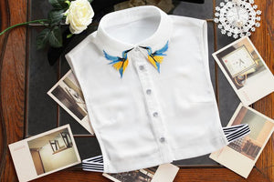 Designer Detachable Collar Shirt | New Arrival 2018 - esstey