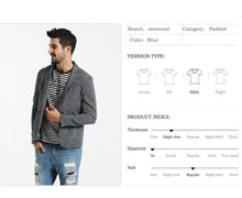 Load image into Gallery viewer, Casual Blazers For Men | Fashion Coats 100% Pure Cotton - esstey