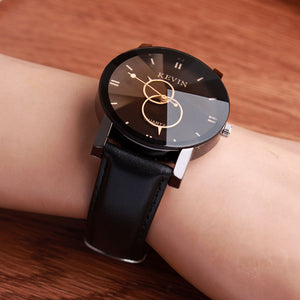Luxury Designer Watch | Round Dial, Leather Band - Esstey Fashion - esstey