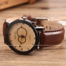 Load image into Gallery viewer, Luxury Designer Watch | Round Dial, Leather Band - Esstey Fashion - esstey
