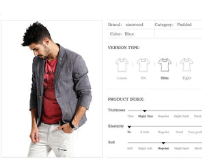 Men Casual Blazers | Men Fashion Thin Linen and Cotton Coat - esstey
