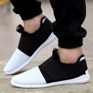 Men's soft lightweigh breathable shoes - Modern Style Sneakers Slip-on Footwear - esstey