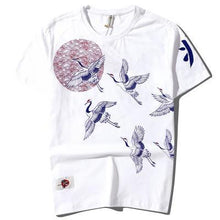 Load image into Gallery viewer, 'Royal Tsuru' T-shirt - esstey