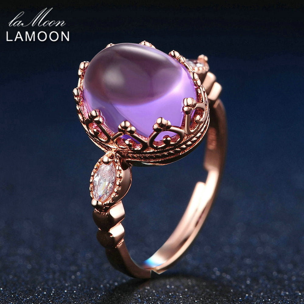 Natural Amethyst Ring | New Arrival 2018 - esstey