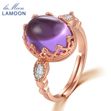 Load image into Gallery viewer, Natural Amethyst Ring | New Arrival 2018 - esstey