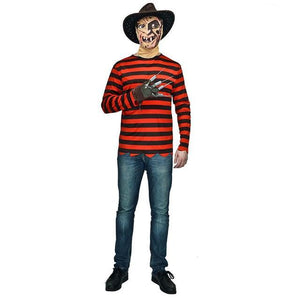 Couple's Freddy killer costumes with claw Halloween Dress - esstey
