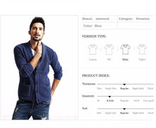 Load image into Gallery viewer, New Men's Casual Cardigan | 2018 Men Vintage Fashion - esstey