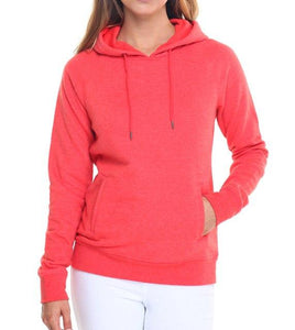 Women Pullover Hoodie Inside Fleece - Multiple Colors - esstey
