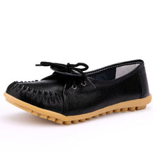 Load image into Gallery viewer, Genuine Leather Women's Flat Shoes - Casual & Formal Wear - esstey