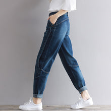 Load image into Gallery viewer, Comfortable High Waist Denim Trousers | New Arrival 2018 - esstey