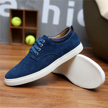 Load image into Gallery viewer, Men Modern Suede Flat Shoes - Men Formal Casual Shoes - esstey