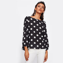Load image into Gallery viewer, Sexy Polka Dots Top for Women | New Arrival 2018 - esstey