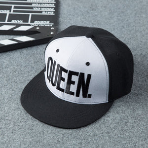 KING QUEEN Baseball Cap | Dady Hats for Couples By Esstey - esstey