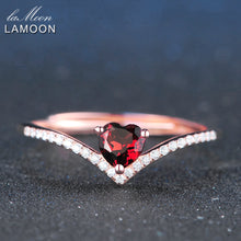 Load image into Gallery viewer, Elegant Heart Shaped Silver Ring | New Arrival 2018 - esstey