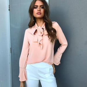 Sexy Chiffon Blouse | New Arrival 2018 - esstey