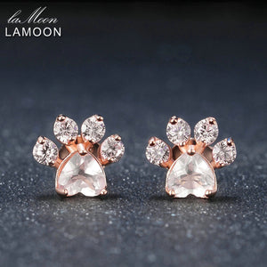 Bearfoot Rose Quartz Stud Earring | New Arrival 2018 - esstey