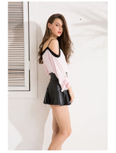 Load image into Gallery viewer, Sexy Off Shoulder Chiffon Blouse | New Arrival 2018 - esstey