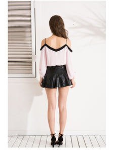Sexy Off Shoulder Chiffon Blouse | New Arrival 2018 - esstey