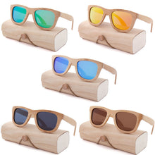 Load image into Gallery viewer, Wooden Bamboo Sunglasses - Summer Collection 2018 - esstey