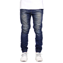 Load image into Gallery viewer, Men Denim Jeans - Hip Hop Denim Jogger Pants - esstey