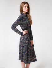 Load image into Gallery viewer, Women party dress unique printed designer design full sleeves - esstey