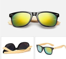 Load image into Gallery viewer, Vintage Style Bamboo Sunglasses - Summer Collection 2018 - esstey
