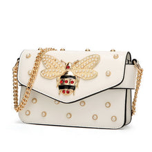Load image into Gallery viewer, Stylish Women Beetle Handbag - Pearls and Diamonds decoration - esstey