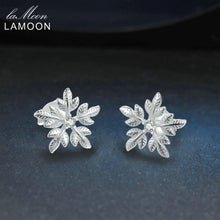 Load image into Gallery viewer, Snowflake Shaped Stud Earrings | New Arrival 2018 - esstey
